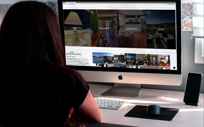 DIV Creativo web para hotel