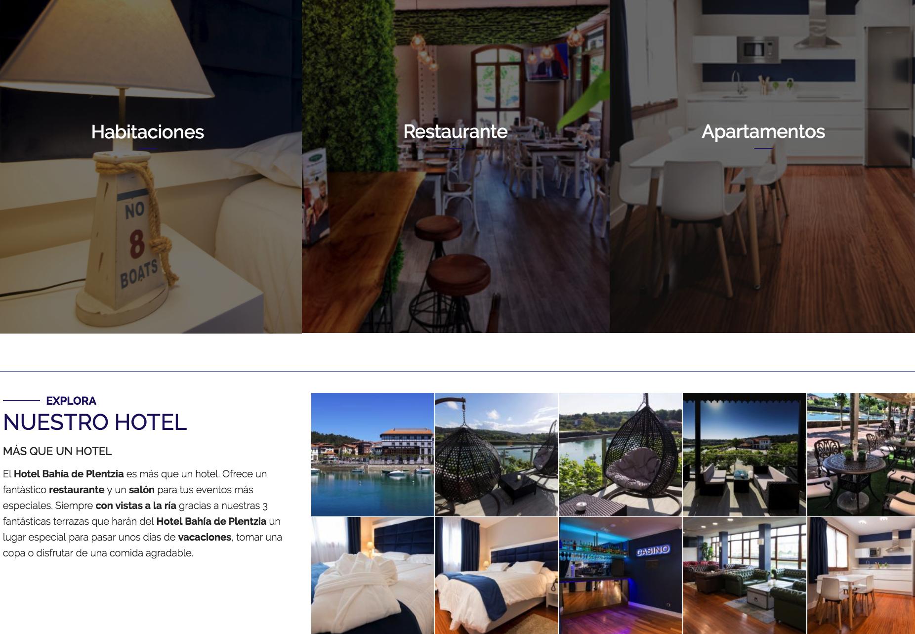 DIV creativo y hotel