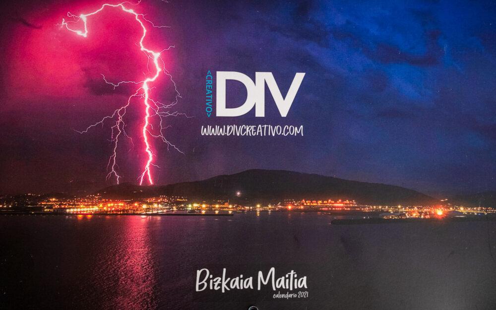 Calendario sobre fotografía de paisaje en Bizkaia
